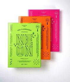 graphic design, the neon book, print