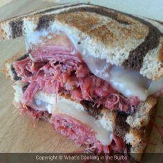 Crock Pot Corned Beef Sandwich Melts