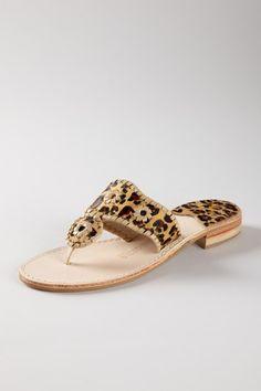leopard print jack rogers