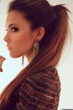 high ponytail | Hairstyles and Beauty Tips