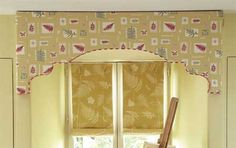 Home-Dzine - How to make a fabric or painted pelmet