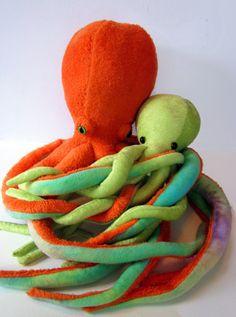 Cool Plush Octopi