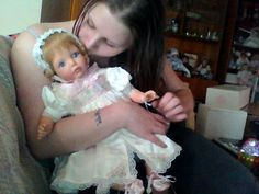 "Me and ""MEMORIES"" She is a Susan Wakeen Signature Top of The line doll!"