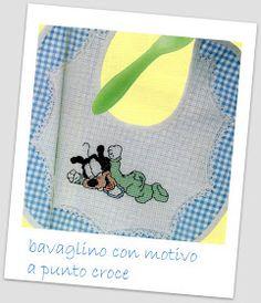 La mia passione per il ricamo: Schemi free punto croce Disney: Speciale neonato