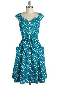 Isn't She Bubbly Dress by Bettie Page - Inspired, 50s. fun!