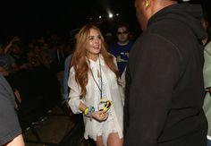 Lindsay Lohan - Coachella