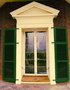 Monticello Door, Thomas Jefferson