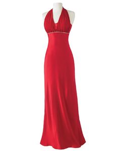 Gorgeous red dress--perfect for your quince court!