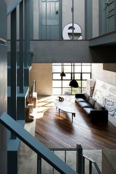 Skate Park House / LEVEL Architects  Superior Interior Acoustics  jp@bedreakustik.dk www.bedreakustik.dk