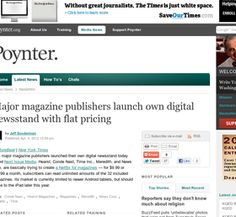 """Publishers launch their own """"Netflix for magazines"""" - Hearst, Conde Nast, Time Inc., Meredith, and News Corp."""