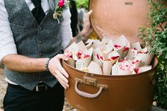 Michelle and Piero's Vintage Country Wedding