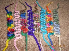 crochet pop tab bracelets. $2.50, via Etsy.