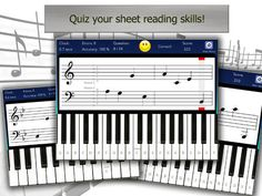 Piano Tutor for iPad is the best companion to your music lessons!! On sale now for a limited time to celebrate the new version with 8 additional languages! Now with optional larger piano key size! Now you can practice your piano skills anywhere with your iPad / iPhone.