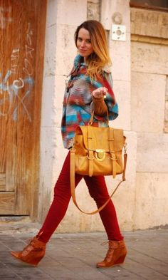 Ethnic/ red  #fashion #style #outfit  #look