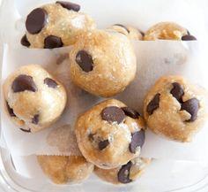 Raw, vegan, cookie dough bites