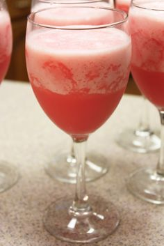 Valentine's Day themed punch - The Recipe Nut