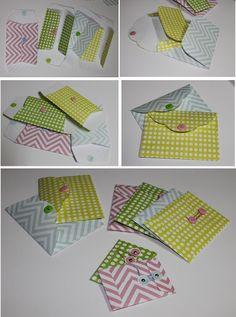 Envelope templates.