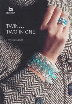 Twin Bead Free Patterns - Tweed Bracelet