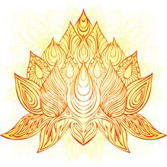 golden flame lotus
