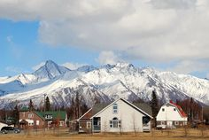Palmer Alaska: you wouldn't mind getting up early if this was your view...