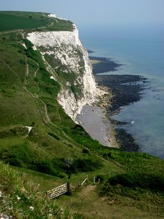 The White Cliffs of Dover, England