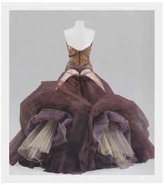 Charles James circa 1950... [turbo-charged....-MS] vintage gowns, costum, fashion, ball gowns, butterflies, charl jame, the dress, charles james, butterfli dress