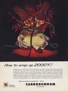Carborundum Ad  ad agency to follow
