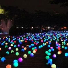 Put glow sticks in balloons for a fun summer party!