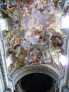 """Pozzo """"San Ignacio"""" Roma Trampantojo quadratura by vicentecamarasa, via Flickr"""