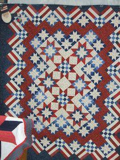 patrioticstar quilt, red white blue, star quilts, granni quilt, blue quilts, quilt patriot, patriot quilt, quilt idea, blues