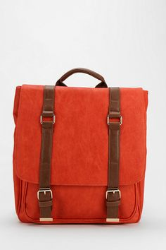BDG Structured Strap Vegan Leather Backpack #urbanoutfitters