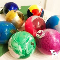 Kerstballen DIY | ve