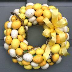 Cute spring wreaths ideas