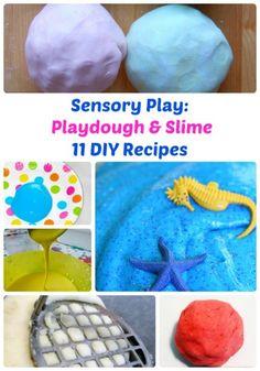 11 DIY Slime and Playdough Recipes for Sensory Play   The Jenny Evolution