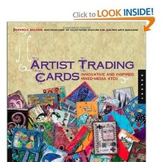 1,000 Artist Trading Cards: Innovative and Inspired Mixed Media ATCs (1000 Series) [Paperback] Patricia Bolton (Author) #book #atc