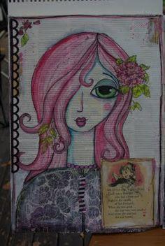 the gypsie chronicles - journal idea, art journals