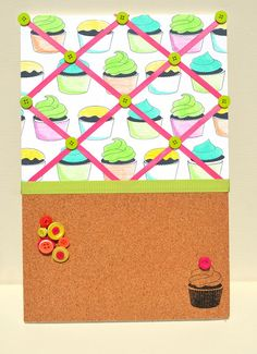 By Jamie Gracz for Avery Elle using Cupcakes clear stamp set.