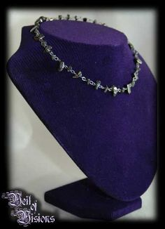 Beautiful handmade necklace of hematite stones. £29