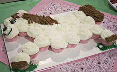 Horse Cupcake Cake ~ so cute!