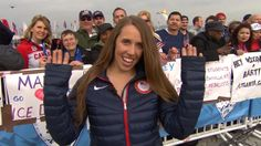 Gold medal skier Maddie Bowman on tribute to Sarah Burke: We tried to 'make her proud'