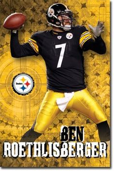 """Big"" Ben Roethlisberger Steelers"
