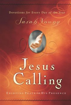 After many years of writing in her prayer journal, missionary Sarah Young decided to listen to God with pen in hand, writing down whatever she believed He was saying to her. It was awkward at first, but gradually her journaling changed from monologue to dialogue. She knew her writings were not inspired as Scripture is, but they were helping her grow closer to God. They are written from Jesus point of view, thus the title Jesus Calling.