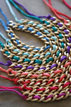 crafting idea?? love chains.