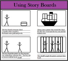 Classroom Freebies Too: Using Story Boards for Reading and Writing