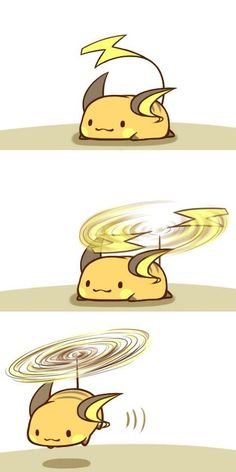 Raichu Learned Fly #Fun #Pokemon via Reddit user --Gianni--