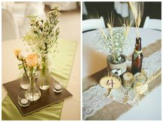 How to create beautiful centerpieces on a budget!