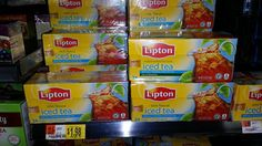 Lipton Tea Bags Just