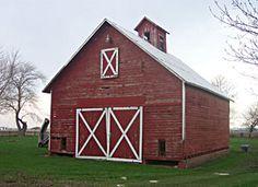 75 year Old Barn in Minooka,  Illinois