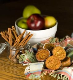 Apple Cinnamon Muffins - Gluten Free, Grain Free, Dairy Free, Refined Sugar Free