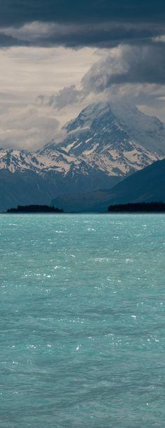 aquamarin, mountain, color, lakes, blue skies, sea, cruis, new zealand, british columbia